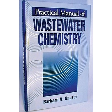 Practical Manual of Wastewater Chemistry, Used Book (9781575040127)
