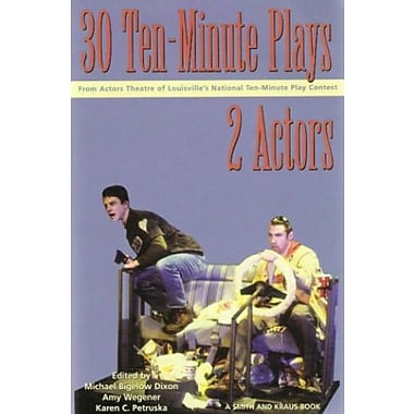 30 Ten-Minute Plays from the Actors Theatre of Louisville for 2 Actors, Used Book (9781575252773)