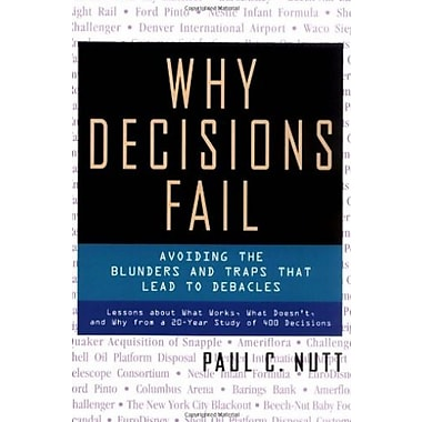 Why Decisions Fail Used Book (9781576751503)