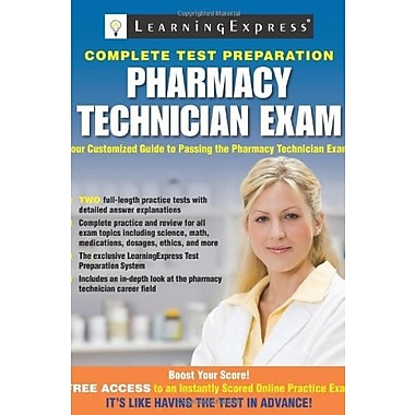 Pharmacy Technician Exam Used Book (9781576857373)