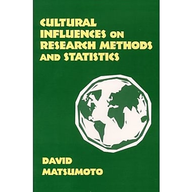Cultural Influences on Research Methods and Statistics, Used Book (9781577661122)