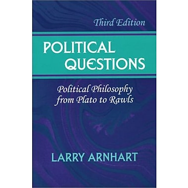 Political Questions: Political Philosophy from Plato to Rawls, Used Book (9781577662631)