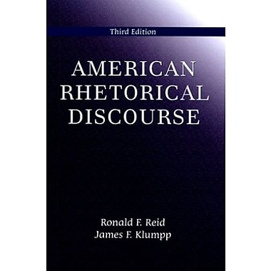 American Rhetorical Discourse, Third Edition, Used Book (9781577663676)