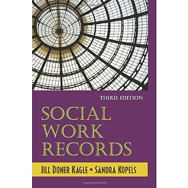 Social Work Records, Used Book (9781577665465)