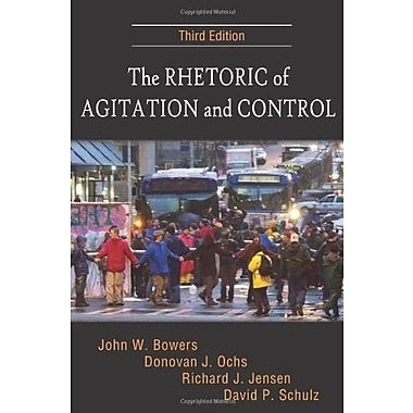 The Rhetoric of Agitation and Control, Used Book (9781577666141)