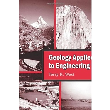 Geology Applied to Engineering, Used Book (9781577666554)