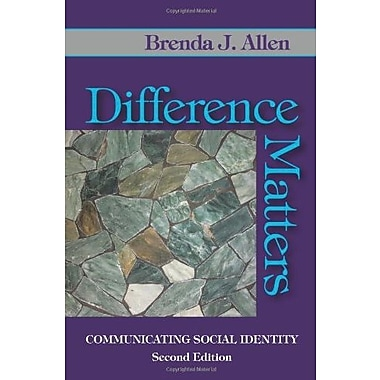Difference Matters: Communicating Social Identity, Used Book (9781577666738)