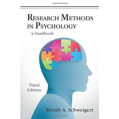 Research Methods in Psychology: A Handbook, Used Book (9781577667193)