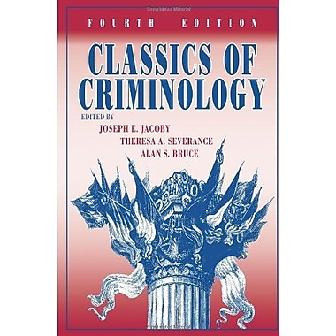 Classics of Criminology, 4th Edition, Used Book (9781577667360)