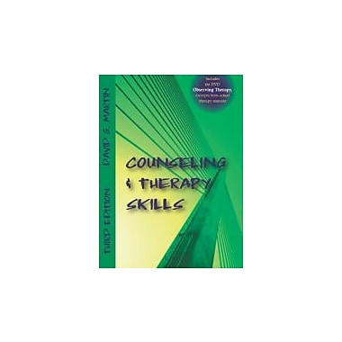 Counseling and Therapy Skills, Used Book (9781577667421)