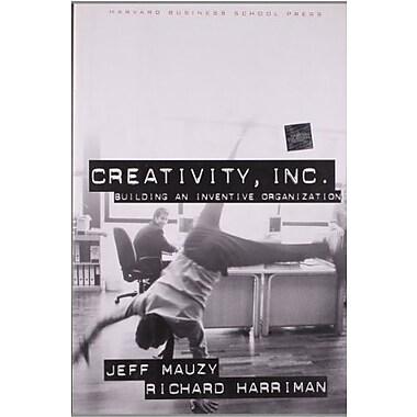Creativity Inc.: Building an Inventive Organization, Used Book (9781578512072)