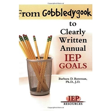 From Gobeldygook to Clearly Written Goals Used Book (9781578615919)