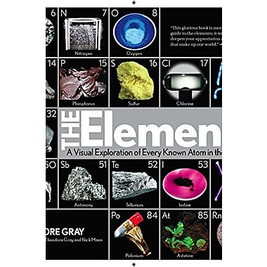 The Elements: A Visual Exploration of Every Known Atom in the Universe Used Book (9781579128142)