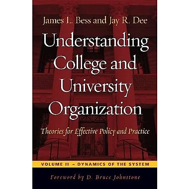 Understanding College & University Organization, Used Book