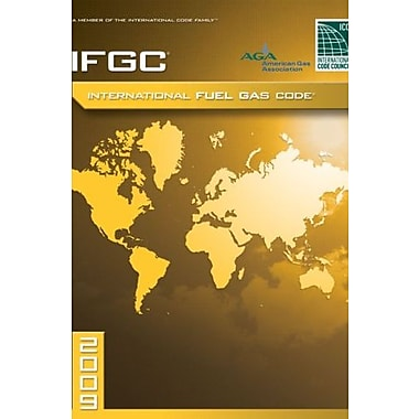 2009 International Fuel Gas Code: Softcover Version, Used Book (9781580017350)