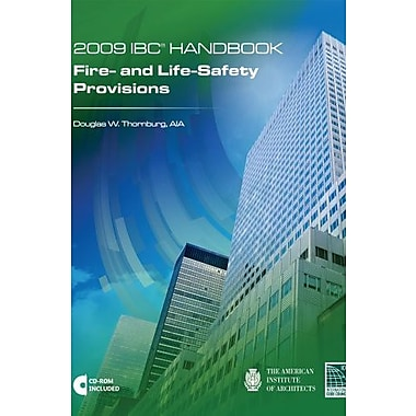 2009 International Building Code Handbook: Fire- and Life-Safety Provisions with CD, Used Book (9781580018784)