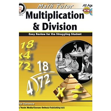 Math Tutor: Multiplication and Division, Grades 4 - 8: Easy Review for the Struggling Student (9781580375764)