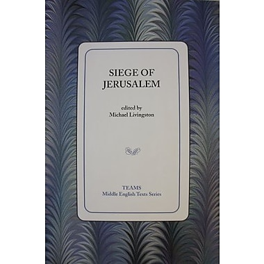 Siege Of Jerusalem, Used Book (9781580440905)