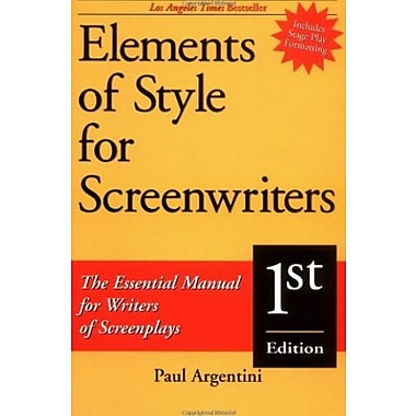 Elements of Style for Screenwriters: The Essential Manual for Writers of Screenplays, Used Book (9781580650038)