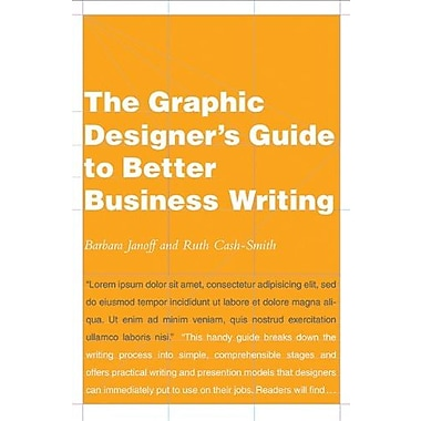 The Graphic Designer's Guide to Better Business Writing, Used Book (9781581154726)