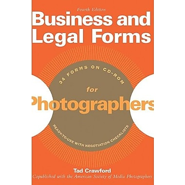 Business and Legal Forms for Photographers Used Book (9781581156690)
