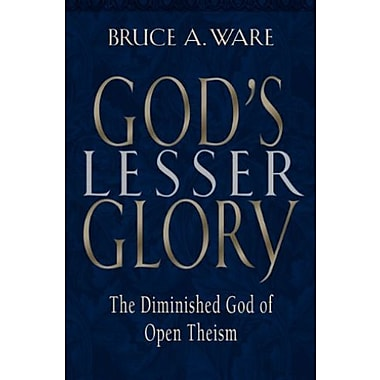 God's Lesser Glory: The Diminished God of Open Theism, Used Book (9781581342291)
