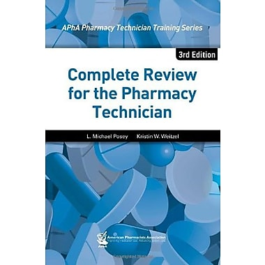 Complete Review for the Pharmacy Technician, Used Book (9781582121987)