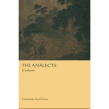 The Analects, Used Book (9781582430386)