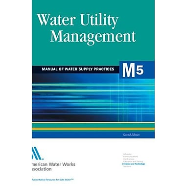 Water Utility Management, Used Book (9781583213612)