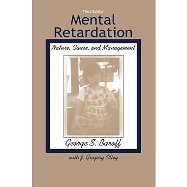 Mental Retardation: Nature, Cause and Management, Used Book (9781583910016)