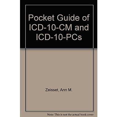 Pocket Guide of ICD-10-CM and Icd-10-pcs, Used Book (9781584262527)