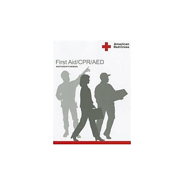 American Red Cross First Aid/CPR/AED Participant's Manual, Used Book (9781584804796)