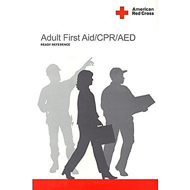 Adult First Aid/ CPR/ AED Ready Reference Card, Used Book (9781584804802)