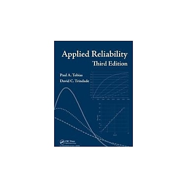 Applied Reliability, Third Edition Used Book (9781584884668)