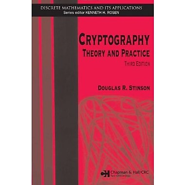 Cryptography: Theory and Practice, Third Edition (Discrete Mathematics and Its Applications), Used Book (9781584885085)