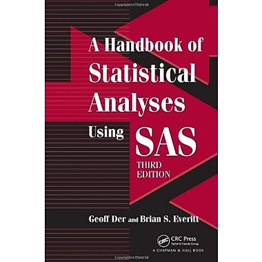 A Handbook of Statistical Analyses using SAS, Third Edition, Used Book (9781584887843)