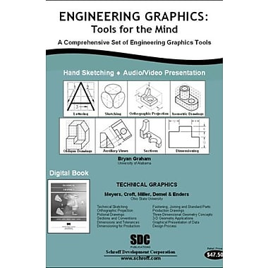 Engineering Graphics: Tools for the Mind & DVD, Used Book (9781585034123)