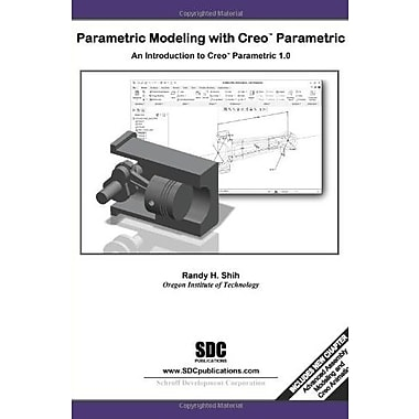 Parametric Modeling with Creo Parametric 1.0, Used Book (9781585036615)