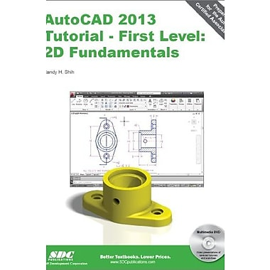 AutoCAD 2013 Tutorial - First Level: 2D Fundamentals, Used Book (9781585037162)