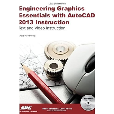 Engineering Graphics Essentials with AutoCAD 2013 Instruction, Used Book (9781585037483)