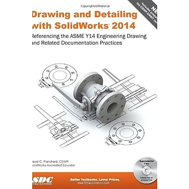 Drawing and Detailing with SolidWorks 2014, Used Book (9781585038459)
