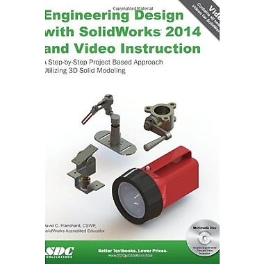 Engineering Design with SolidWorks 2014 and Video Instruction, Used Book (9781585038480)