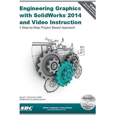 Engineering Graphics with SolidWorks 2014 and Video Instruction Used Book (9781585038510)