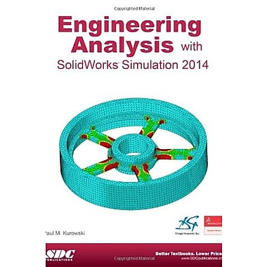 Engineering Analysis with SolidWorks Simulation 2014, Used Book (9781585038589)