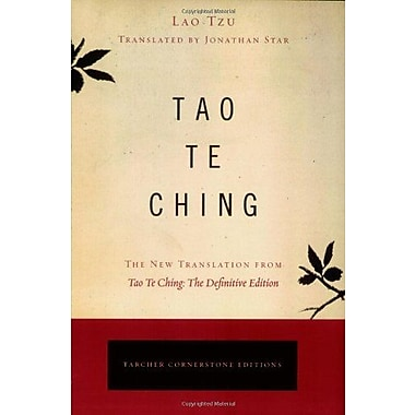 Tao Te Ching: The New Translation from Tao Te Ching, The Definitive Edition (9781585426188)