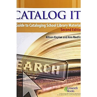 Catalog It!: A Guide to Cataloging School Library Materials, Used Book (9781586831974)