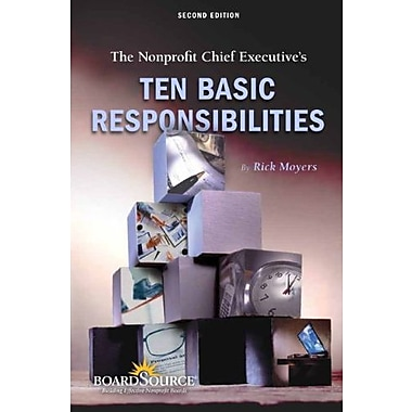 The Nonprofit Chief Executive's Ten Basic Responsibilities, Used Book (9781586861308)