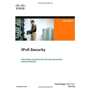 IPv6 Security Used Book (9781587055942)