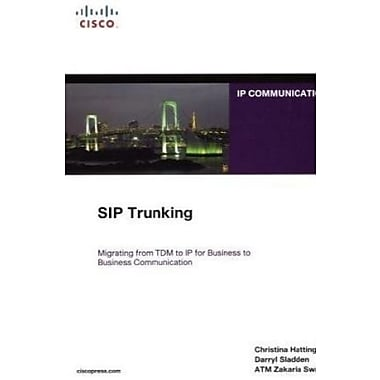 SIP Trunking, Used Book (9781587059445)