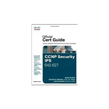 CCNP Security IPS 642-627 Official Cert Guide, Used Book (9781587142550)